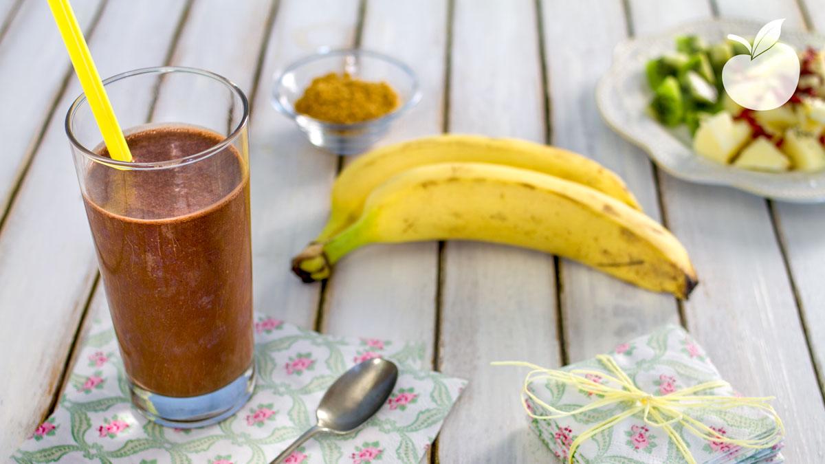 Frullato bimby cioccolato e banana
