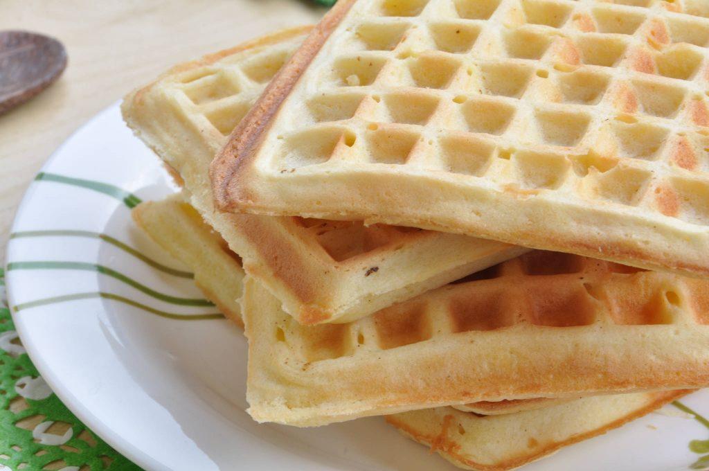 Waffle alla panna bimby
